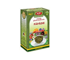Păpădie frunze ceai la pungă