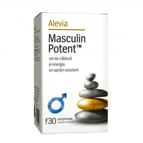 Masculin potent, Alevia, Sustine viata sexuala, 30 comprimate