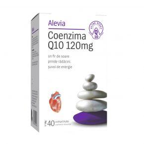 Coenzima Q10 120 mg, Supliment alimentar, 40 comprimate