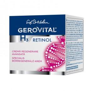 Crema-regenerare-avansata-Gerovital-H3-Retinol-50-ml-cutie