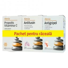 Alevia_Pachet-raceala-Propolis-C+Antitusin+Antigripol