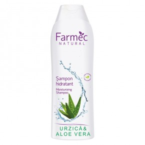 Sampon-hidratant-Urzica-si-Aloe-Vera-Farmec-Natural-400-ml
