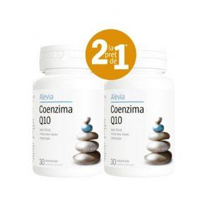 Pachet Coenzima Q10 10 mg, Supliment alimentar, 30+30 comprimate