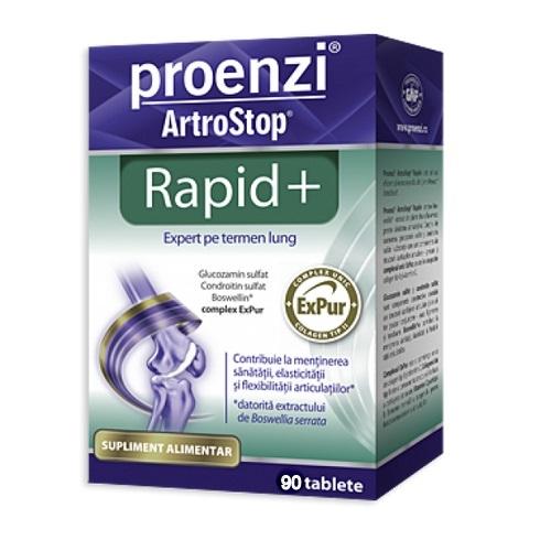 Proenzi ArtroStop Rapid Plus amelioreaza rapid durerile articulare 60 tablete Walmark