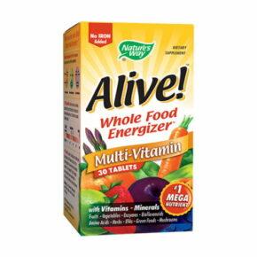 Alive 30 Comprimate fara fier