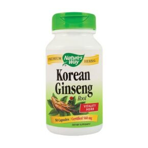 Korean Ginseng 50 Capsule