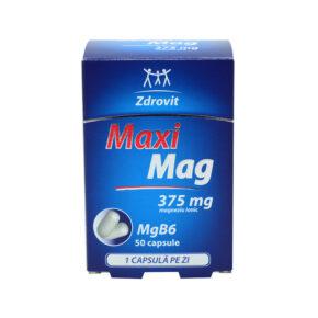 MaxiMag 375 mg 30 capsule