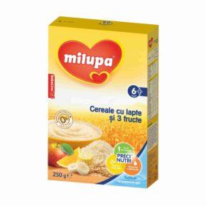Milupa cereale cu 3 fructe 250g 1