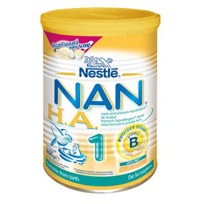 Nestle lapte praf nan ha1 400g
