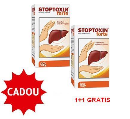 Stoptoxin Forte Capsule 1+1 Gratuit