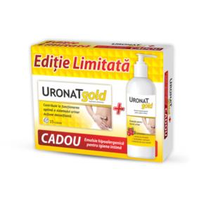zdrovit-uronat-gold-x-15-caps-uronat-gold-emulsie-hipoalergenica-x-400-ml-promo