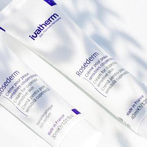 Ivatherm, Rosederm Crema pentru piele sensibila cuperozica, 30 ml