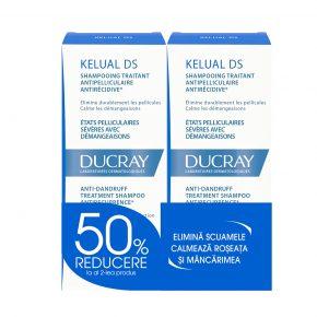 Pachet Ducray Kelual DS Anti-Matreata Severa 2x100 ml