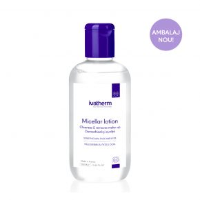 Lotiune Micelara Ivatherm pentru ten sensibil, 250 ml