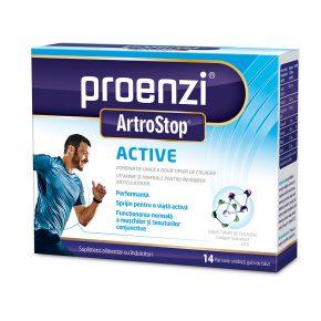 Proenzi ArtroStop Active Sprijin Viata Activa 14 flacoane