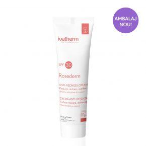 Ivatherm, Rosederm Crema piele sensibila cuperozica SPF30, 40 ml