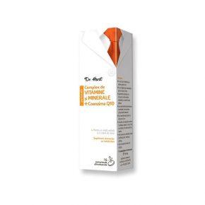 Complex de Vitamine si Minerale + Coenzima Q10, Dr. Hart, 15 comprimate efervescente