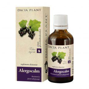 Tinctura Alergocalm, Dacia Plant, Supliment Alimentar recomandat pentru Reducerea Disconfortului Datorat Factorilor de Natura Alergica, 50 ml