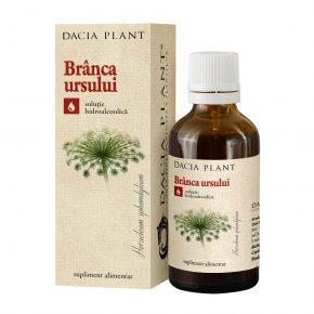 Tinctura Branca Ursului, Dacia Plant, Supliment Alimentar pentru Sustinerea Fertilitatii, 50 ml
