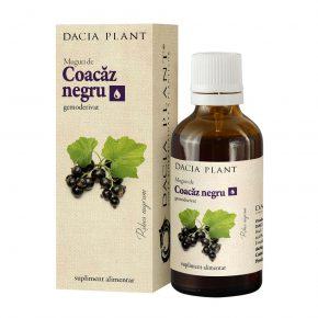 Tinctura Coacaz Negru, Dacia Plant, Supliment Alimentar ce Reduce Disconfortul datorat Factorilor de Natura Alergica, 50 ml