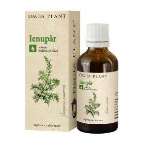 Tinctura Ienupar, Dacia Plant, Supliment Alimentar ce Contribuie la Sanatatea Tractului Digestiv, Aparatului Urinar si Respirator, 50 ml