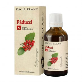 Tinctura Paducel, Dacia Plant, Supliment Alimentar recomandat pentru Mentinerea in Limite Normale a Functiei Cardiace, 50 ml