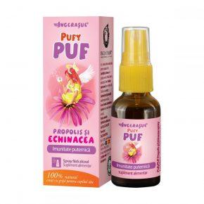 Spray cu Propolis si Echinacea pentru Imunitate Puternica, Ingerasul PuyPuf Dacia Plant, recomandat pentru Intarirea Imunitatii Copiilor, 20 ml