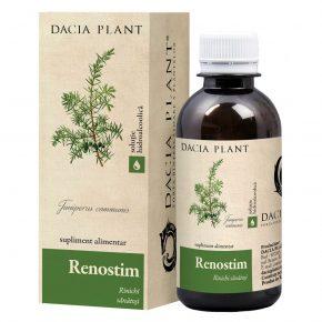 Renostim Rinichi Sanatosi, Dacia Plant, Supliment Alimentar recomandat pentru Functionarea Normala a Aparatului Urinar, 200 ml
