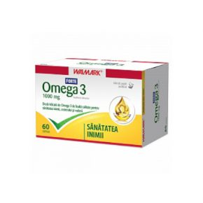 Omega 3 1000 mg, Walmark, 60 capsule