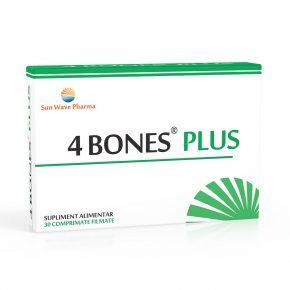 4 Bones Plus, Sun Wave Pharma, 30 comprimate