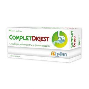 Complet Digest, Hyllan, Supliment alimentar, 30 comprimate
