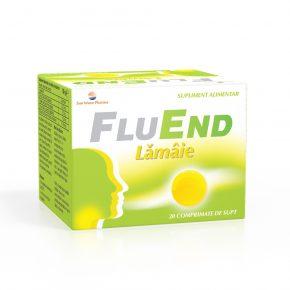 FluEnd Lamaie Sun Wave Pharma, 20 comprimate de supt