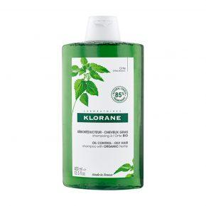 Sampon cu urzica pentru reglarea sebumului, Klorane, 400 ml