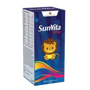 SunVita Sirop Sun Wave Pharma, 120 ml