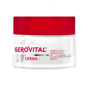 Crema Activ Hidratanta 24h Gerovital H3 Derma + ten uscat, 50 ml