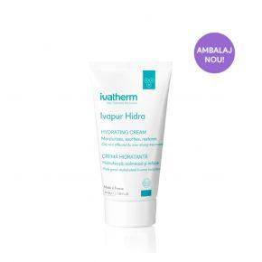 Ivapur Hidra, Ivatherm, Crema hidratanta piele iritata, 40 ml