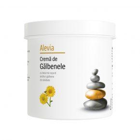 Crema de Galbenele cu efect benefic asupra pielii, Alevia, 250 g