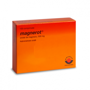 Magnerot 500 mg, 100 comprimate