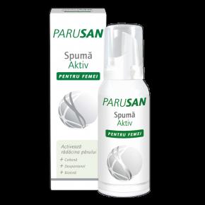 Parusan Spuma Aktiv pentru femei, 100 ml